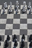 Street chess Royalty Free Stock Photo