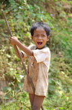 Street child Stock Photo