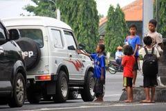 Street children Royalty Free Stock Image