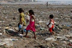 Street Children in Mumbai Stock Images