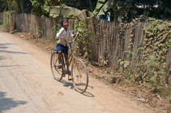 Street children. PHNOM PHEN, CAMBODIA MARCH 23: Unidentified street children posing on march 23 2013 in Phnom Phen,Cambodia.In Phnom Penh alone there are between stock photography