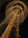 Street Christmas Illumination Royalty Free Stock Photos