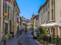Street in Cite Carcassonne Royalty Free Stock Photos