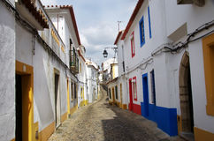 Street of the city of Evora - Portugal Royalty Free Stock Photos