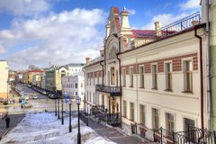 Street in the city of Kazan Royalty Free Stock Images