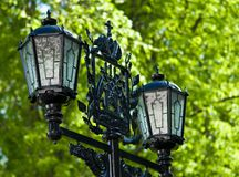 Street city lantern royalty free stock photos