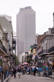 Street in the city of New Orleans, Louisiana Royalty Free Stock Image