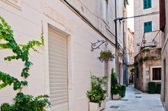 Street in city of Split, Croatia Stock Photo