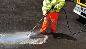 Street cleaner Stock Photos