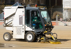Street cleaner machine Stock Photos