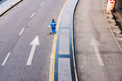Street cleaner Royalty Free Stock Images
