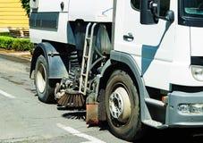 Street cleaner vehicle Stock Photos
