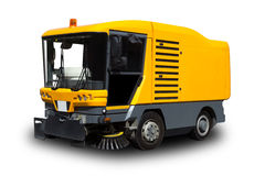 Street Cleaner Royalty Free Stock Image