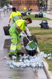 Street cleaners Stock Photos