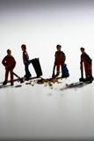 Street cleaners A Stock Photography