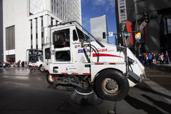 Street Cleaners - National Western Stock Show Parade Stock Image