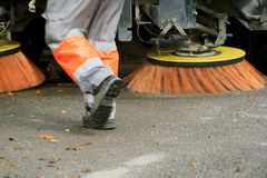 Street Cleaning Stock Images