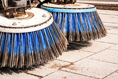 Street cleaning Royalty Free Stock Photography