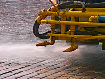 Street cleaning machine Royalty Free Stock Photo