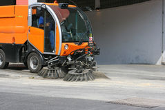 Street cleaning vehicle 3 Stock Photos
