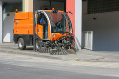 Street cleaning vehicle 4 Royalty Free Stock Photo
