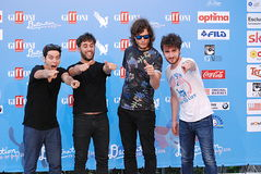 Street Clerks al Giffoni Film Festival 2016 Stock Photo