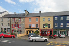 Street in Clifden Stock Images