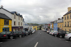 Street in Clifden Royalty Free Stock Photography