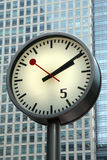 Street clock Stock Image