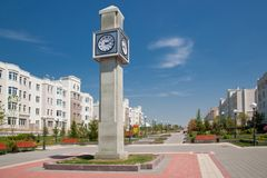 Street clock Royalty Free Stock Photo