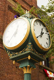 Street clock in Charlottetown Stock Images