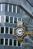 Street clock  city of london Stock Images