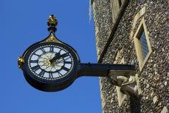 Street clock. Old street clock in Canterbury, UK Stock Photo