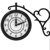 Street clock in the old style Royalty Free Stock Photography
