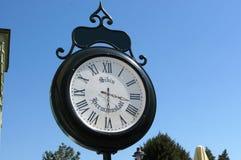 Street clock Stock Images