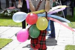 Street clown Royalty Free Stock Image