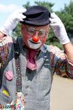 Street Clown Papa Hoot Stock Images