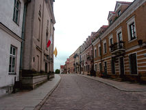 Street. Cobbled street in the city Royalty Free Stock Photography