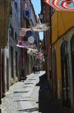 Street of Coimbra Royalty Free Stock Photos