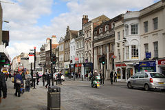 Street in Colchester Royalty Free Stock Photography