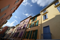 Street in Collioure in France Stock Photo