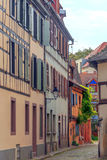 Street of Colmar Stock Photo