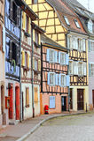 Street of Colmar Royalty Free Stock Images