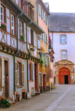Street of Colmar Stock Photography
