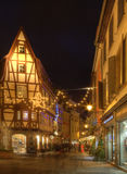 Street in Colmar Royalty Free Stock Image