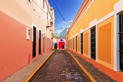 Street colors Puerto Rico Stock Photo