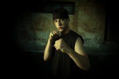 Street combat Stock Photography