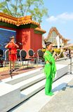 A street concert organized by the China Expo Milano 2015 pavilion. Stock Photo