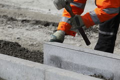 Street Construction Royalty Free Stock Images