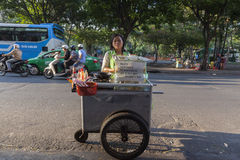 Street cook Royalty Free Stock Image